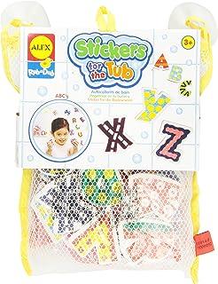 ALEX Toys Rub a Dub Stickers for the Tub ABC's