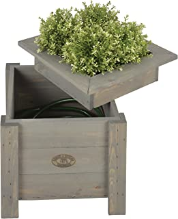 hose hiding planter