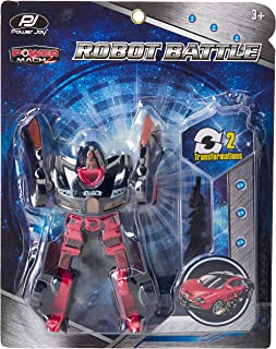 PJ Power Joy Power Mach Robot Battle 1pc Assorted, QX386