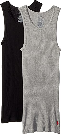 Polo Ralph Lauren Kids 2- Pack Tank Top (Little Kids/Big Kids)