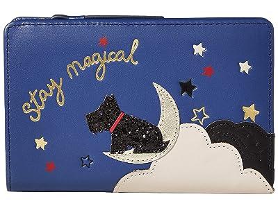 Radley London Stay Magical Medium Bifold Purse (Sapphire) Wallet Handbags