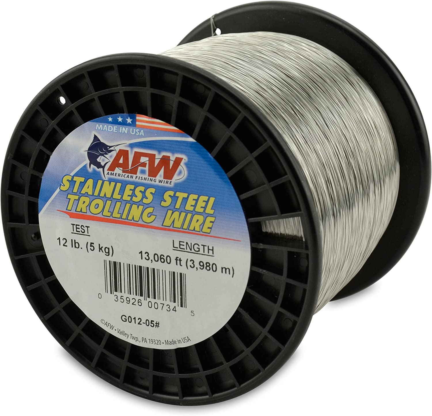 American Boston Mall Fishing Wire Stainless Te Steel Trolling 12-Pound 5 ☆ very popular