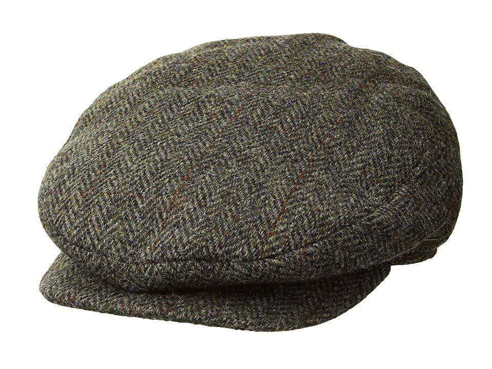 1940s Mens Hat Styles and History Stetson Harris Tweed Ivy Brown Traditional Hats $85.00 AT vintagedancer.com
