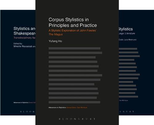 Advances in Stylistics (17 Book Series)