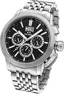 CEO Adesso Japanese-Quartz Watch with Stainless-Steel Strap, Silver, 8 (Model: CE7019)
