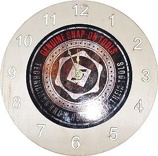 AGB Snap-on Tools Genuine Clock Wood