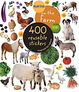 Best Eyelike Stickers: On the Farm Review