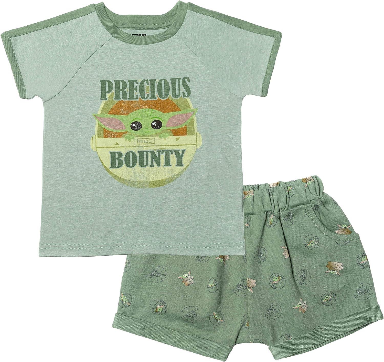 gift STAR WARS Mandalorian The Child Short Fren Sleeve Superior Boys T-Shirt