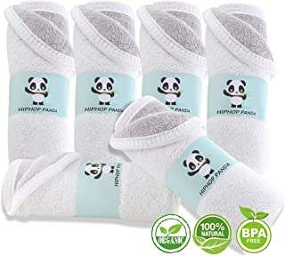 Hypoallergenic Bamboo Facial Washclothes - Luxury Bamboo Makeup Remover Cloth for Sensitive Skin - Reusable Cleansing Cloth for Face - 10