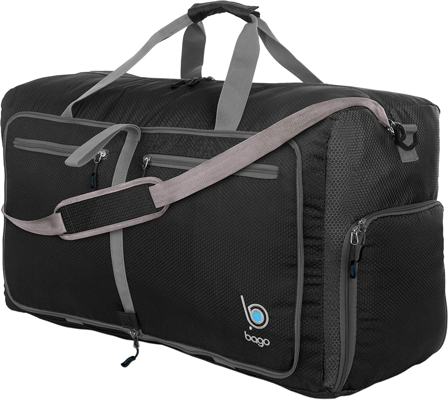 Milwaukee Mall Bago 80L Travel Japan's largest assortment Duffle Bag For - Weekender Foldable Women
