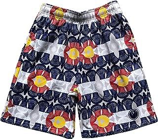 LAX SO HARD Mens Colorado Flag Lacrosse Shorts
