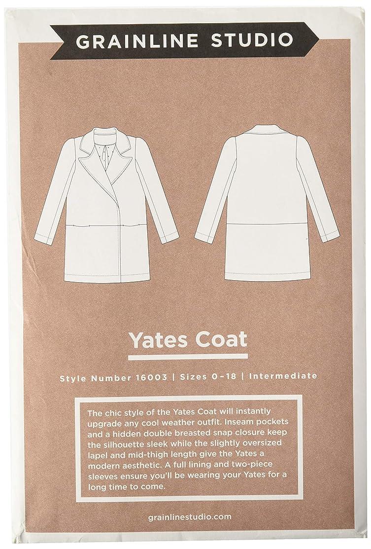 Grainline Studio 16003 Yates Coat Ptrn