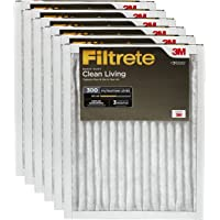 6-Pack Filtrete 20x20x1AC Furnace Air Filter