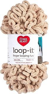 RED HEART E884.0310 Loop-It yarn No Tan Lines