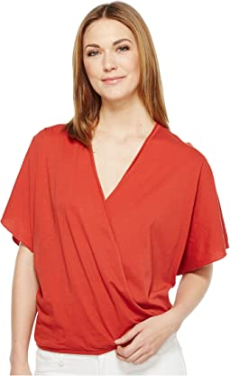 Ines V-Neck Crossover Top