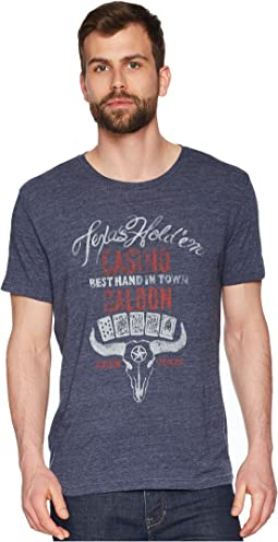 Lucky Brand Texas Hold Em Casino Tee