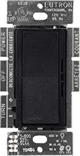 Lutron Diva C.L Dimmer for Dimmable LED, Halogen and Incandescent Bulbs, Single-Pole or 3-Way, DVSCCL-153P-MN, Midnight