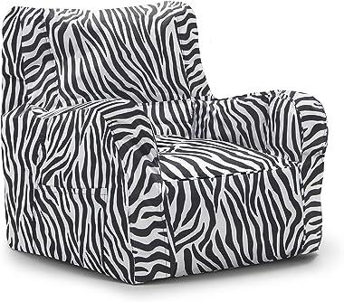 Big Joe Duo Chair, Zebra