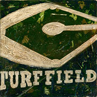 Oopsy Daisy Turf Field Stretched Canvas Art by Aaron Christensen, 12 by 12-Inch