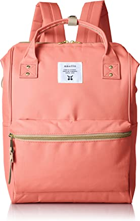 anello Polyester Backpack, Coral Pink, Large, (AT-B0193A)
