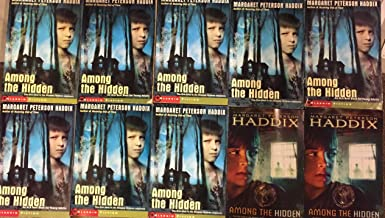 Among the Hidden by Margaret Peterson Haddix Class Reading set of 10 Copies