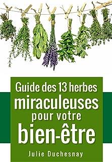 Guide des 13 herbes miraculeuses pour votre bien-être (Guides pratiques du bien-être t. 1) (French Edition)