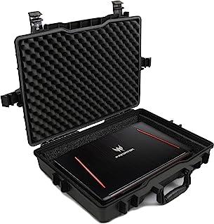 حقيبة كمبيوتر محمول مخصصة مقاومة للماء من Casematix 17 بوصة تناسب أجهزة Acer Predator Helios 300، Helios 500، Nitro 5 والم...