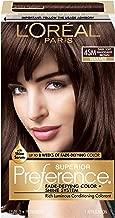 L'OrÃal Paris Superior Preference Fade-Defying + Shine Permanent Hair Color, 4SM Dark Soft Mahogany Brown, 1 kit Hair Dye 1 Count