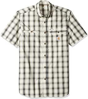 Men's Force Plaid Ridgefield Short Sleeve Shirt (Regular and Big & Tall Sizes)