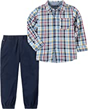Tommy Hilfiger Boys' Toddler 2 Pieces Shirt Pants Set