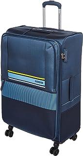 حقيبة سفر كبيرة ناعمة من American Tourister Auriga - ازرق عتيق - تدور 80 سم
