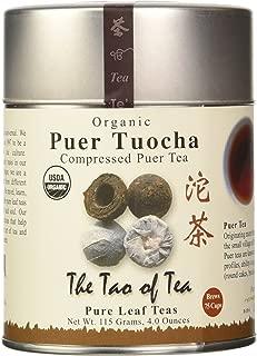 Puer Tuocha Pu-er Tea, 3 Ounce Tin