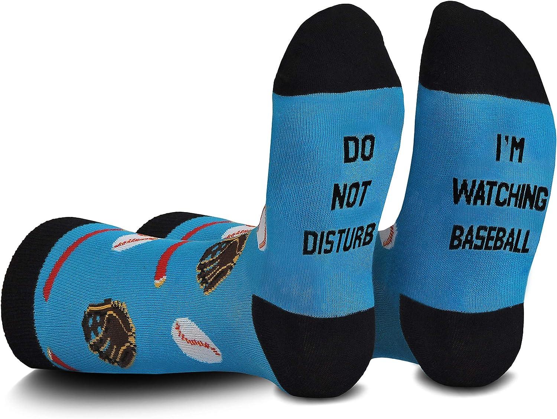 Cavertin Men's Washington Mall Fathers Day Gaming Sales Baseball Box Gift f Socks with