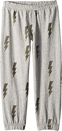 Cotton Jersey Lightning Lounge Pants (Toddler/Little Kids)