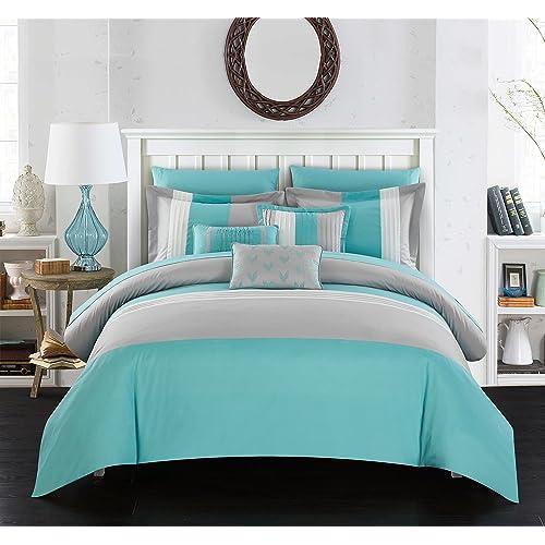 Turquoise Comforters: Amazon.com