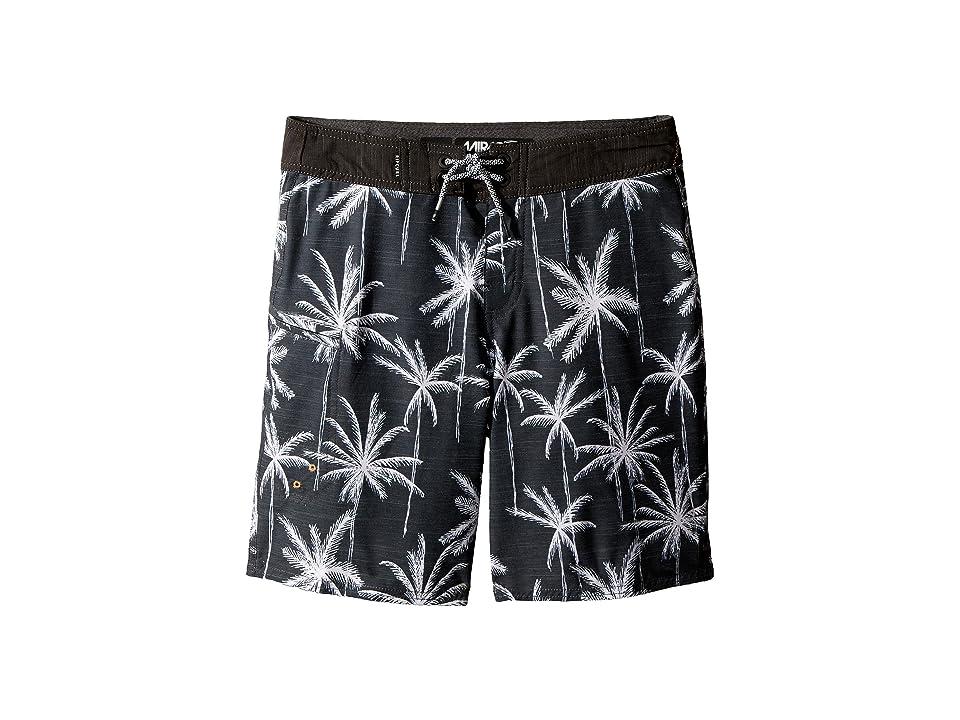 Rip Curl Kids Mirage Palm Trip Boardshorts (Big Kids) (Black) Boy
