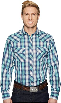 Wrangler - WFS Long Sleeve Plaid Shirt