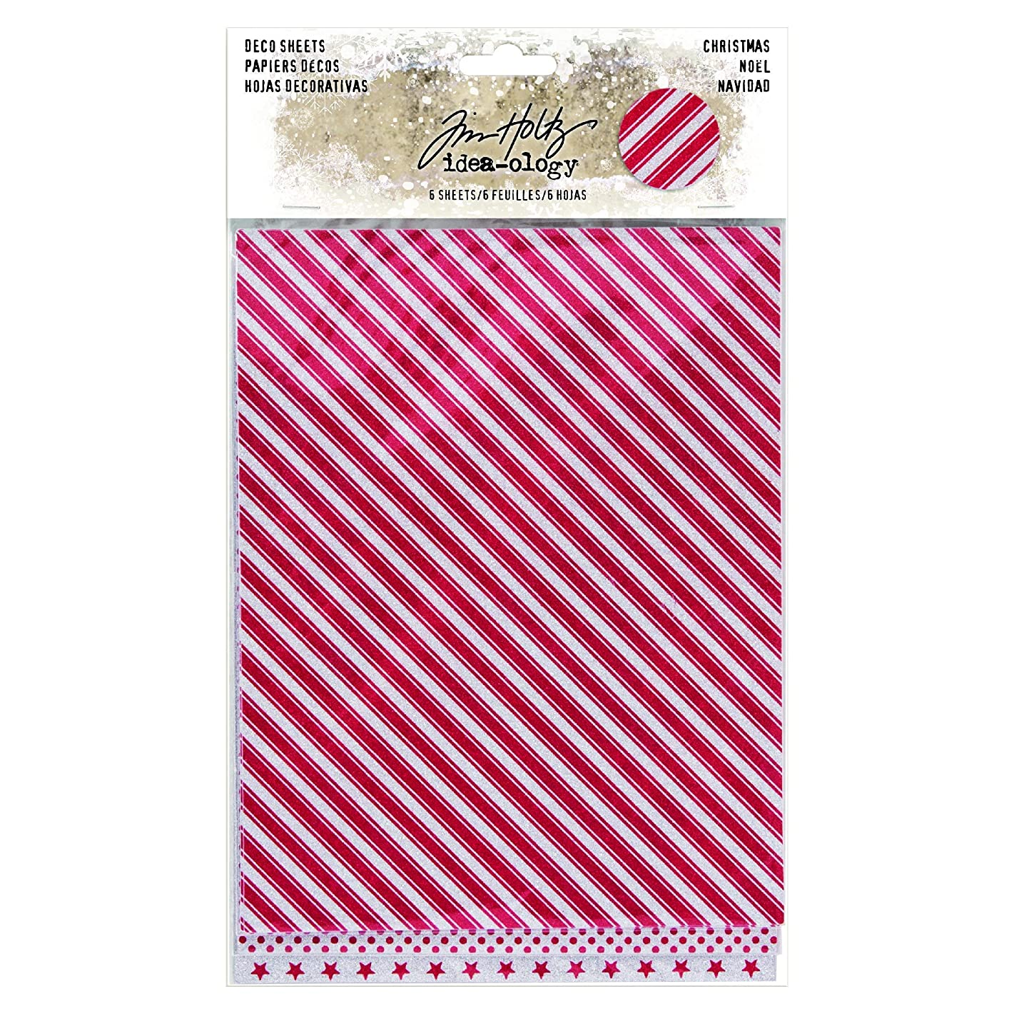 ADVANTUS CORPORATION Idea-Ology Adhesive Deco Sheets 7