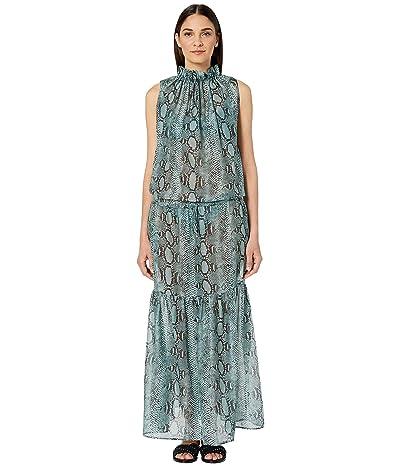 Stella McCartney Timeless Long Dress Cover-Up (Eggshell Blue) Women