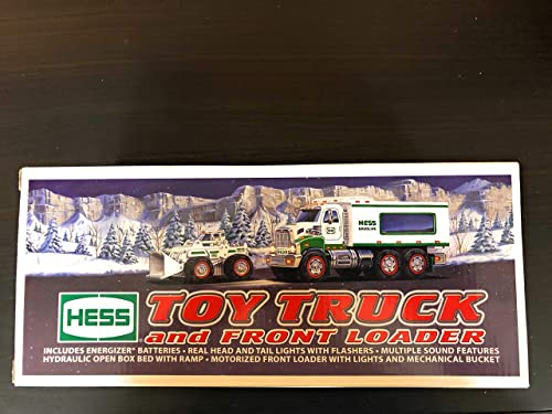 2008 Hess Toy Truck and Front Loader by Hess