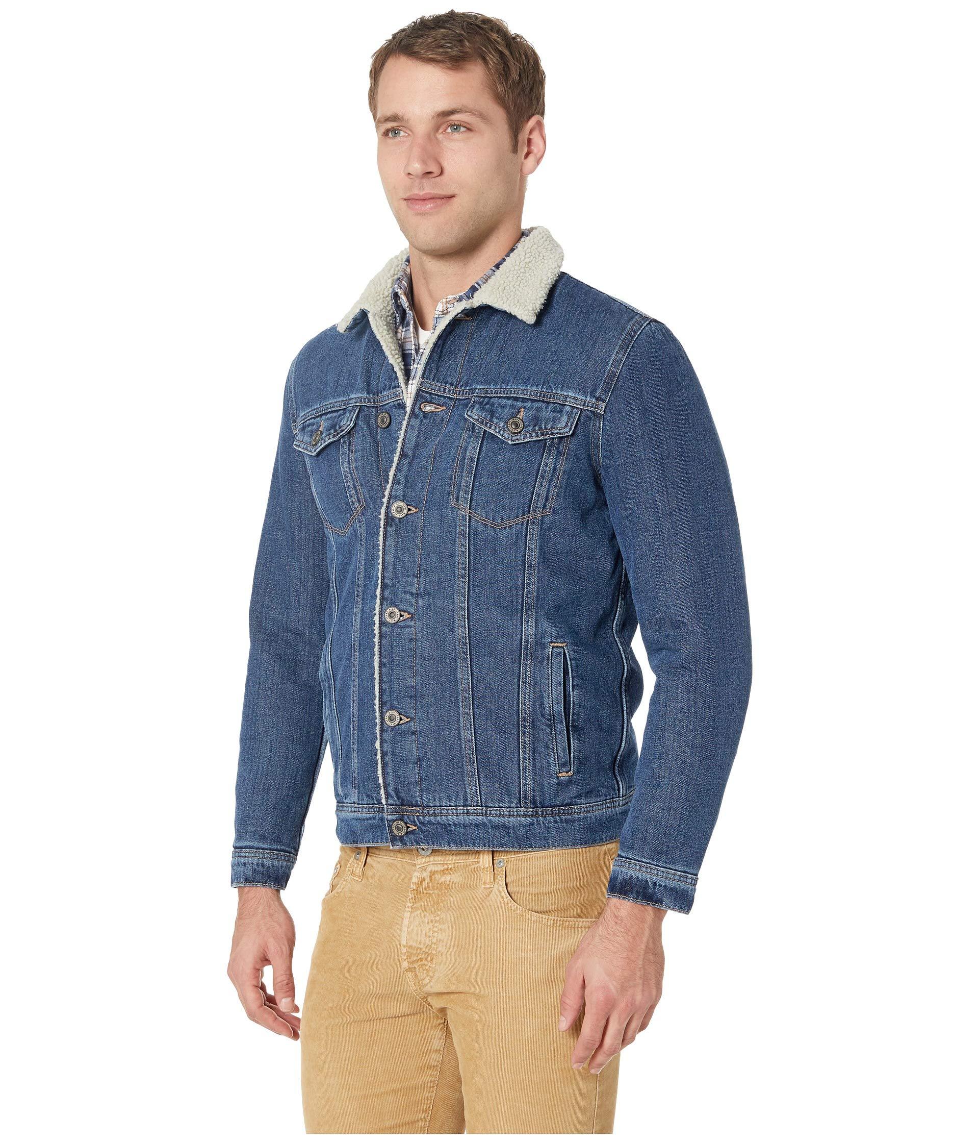 Frank Sherpa Jeans Mavi Jacket Dark zqHIwxg5I