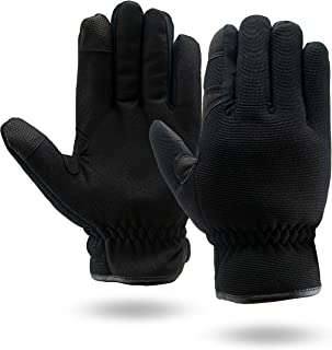 Illinois Glove Company 80 Touchscreen Mechanics 3M Thinsulate Lined Gloves Black