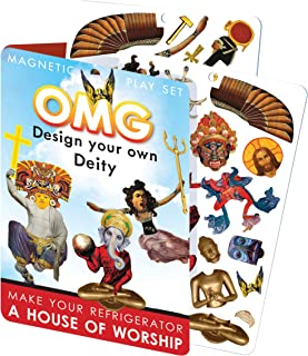 The Unemployed Philosophers Guild OMG Design Your Own Deity Magnetic Play Set - Mix and Match God Creation Set