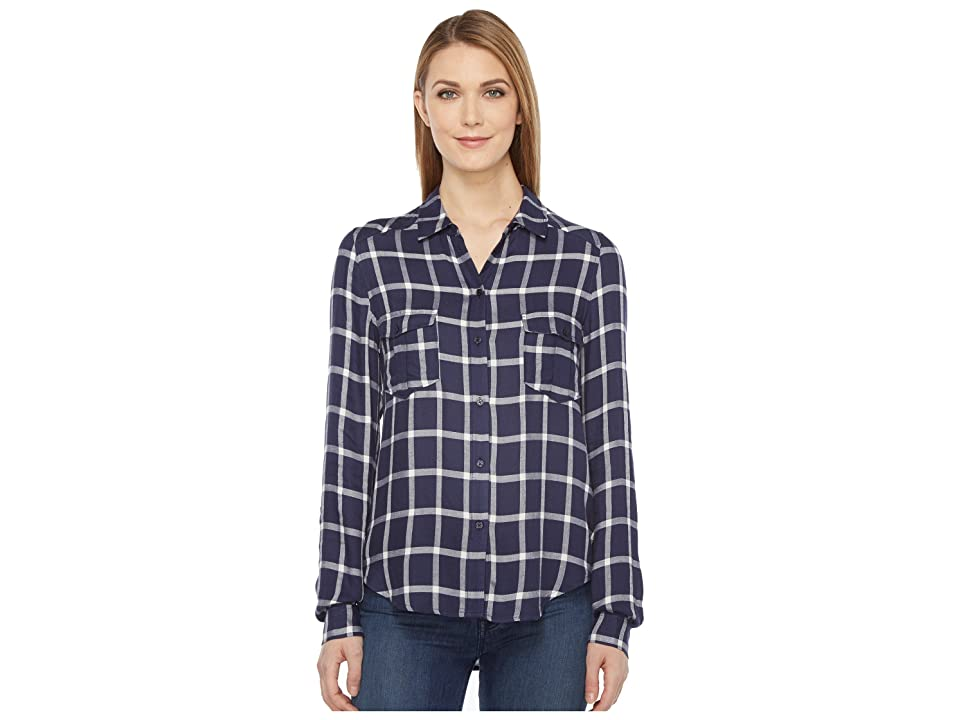 Paige Mya Shirt (Peacoat/Cream) Women