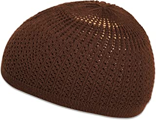 Elastic One Size Fits Most Premium Cotton Kufi Beanie Skullcap Wavy