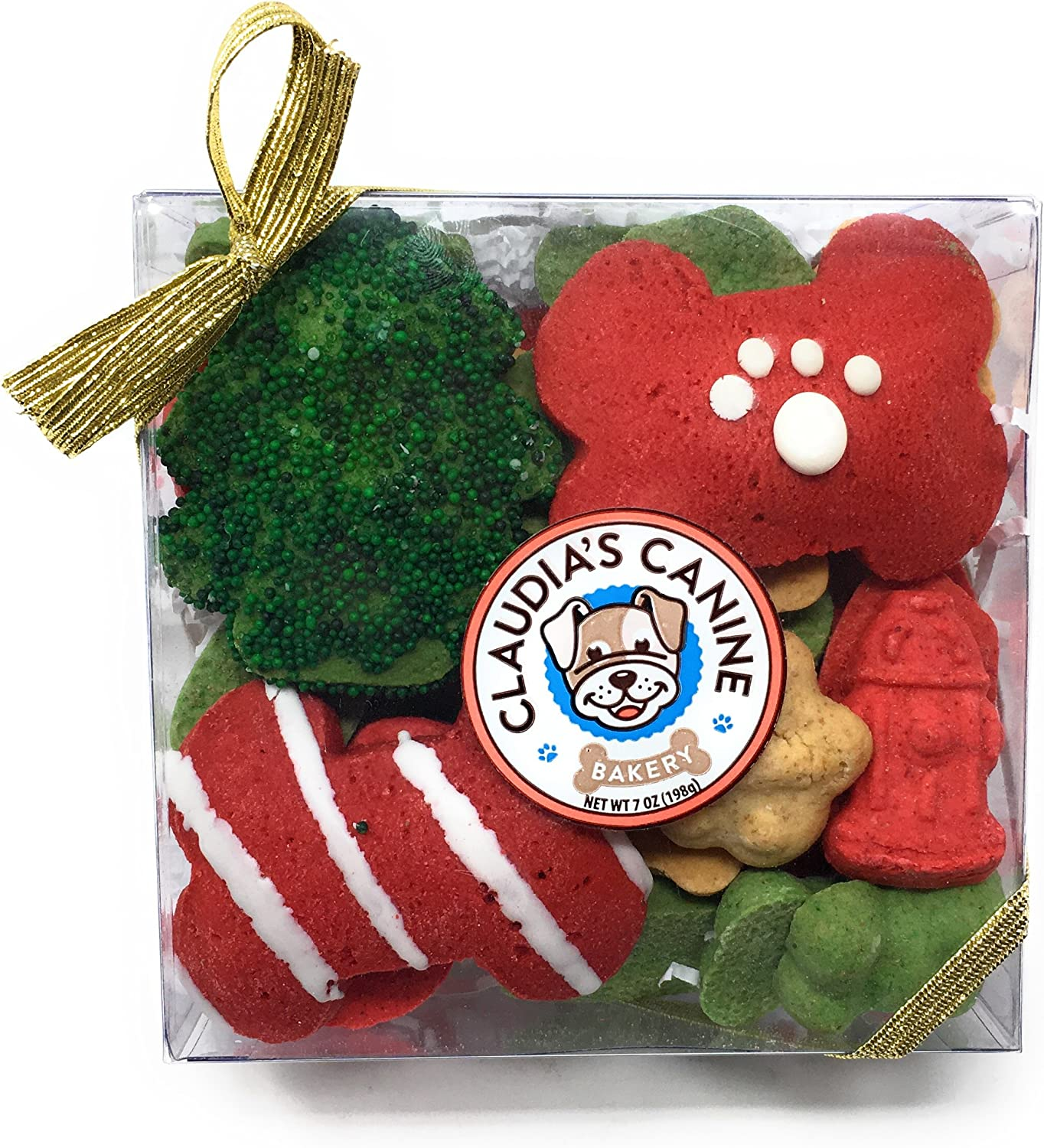 Claudia's Canine Gourmet Christmas Dog Box Treat Gift Ranking TOP1 Max's ! Super beauty product restock quality top! Hol