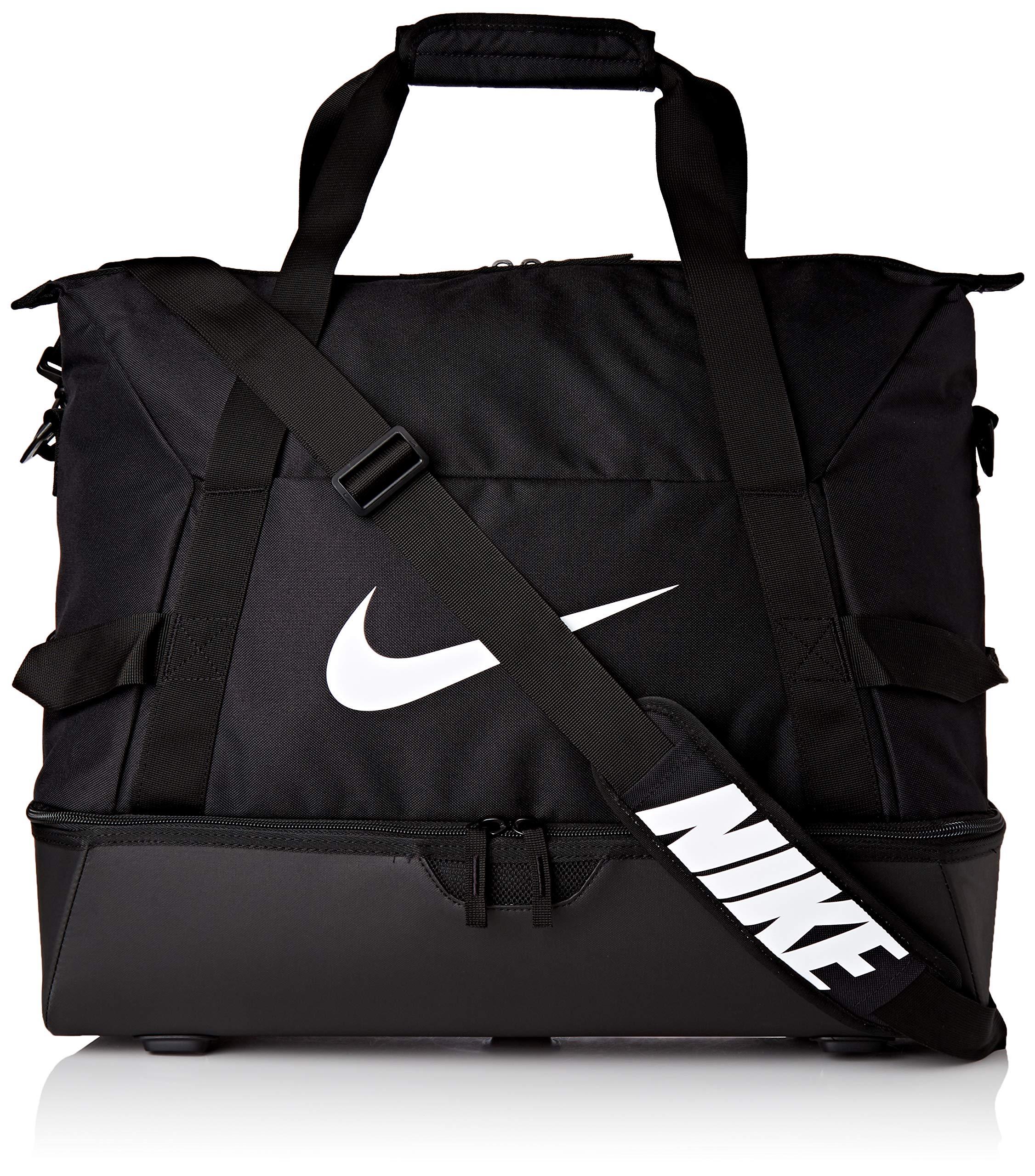 Nike Unisex Academy Team Hardcase Large Sporttasche, Black/Black/White, 50 x 33