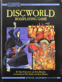 Gurps Discworld Roleplaying Game 2nd Edition Role Play Game