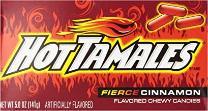 product image for Hot Tamales Candy, Cinnamon, 5 Ounce (Pack of 12)