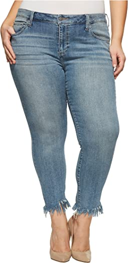 Lucky Brand Plus Size Ginger Skinny Jeans in Thoreau